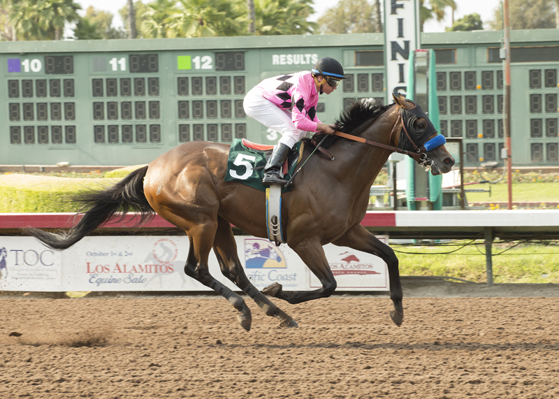 Favored West Coast Powers Home To Win  Grade Iii Los Alamitos Derby